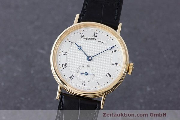 BREGUET CLASSIQUE 18 CT GOLD MANUAL WINDING KAL. 511DR LP: 11800EUR [170244]