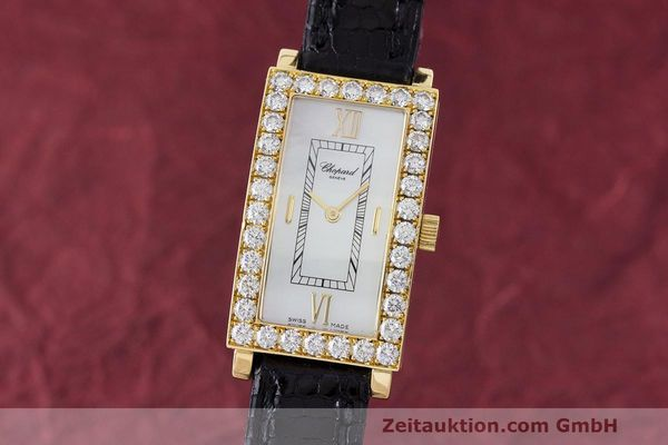 CHOPARD ORO 18 CT QUARZO KAL. ETA 976.001 LP: 23620EUR [170247]