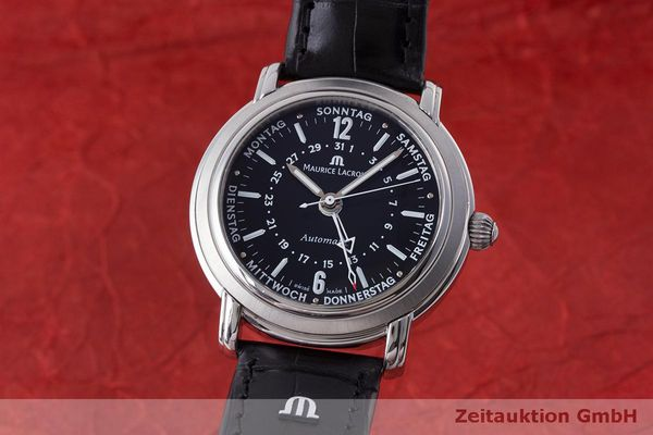 MAURICE LACROIX MASTERPIECE STEEL AUTOMATIC KAL. ML 27 ETA 2836-2 LP: 3800EUR [170261]