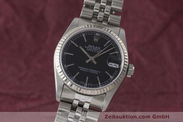 ROLEX DATEJUST STEEL / WHITE GOLD AUTOMATIC KAL. 2130  [170276]