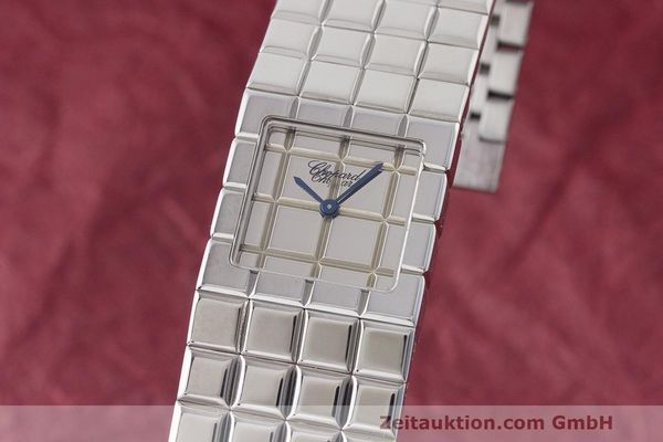 CHOPARD ICE CUBE STEEL QUARTZ KAL. ETA E01701 [170279]