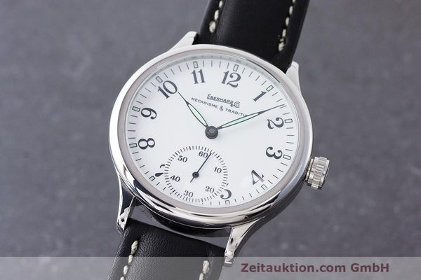 EBERHARD & CO TRAVERSETOLO STEEL MANUAL WINDING KAL. ETA 6498-1 LP: 1830EUR  [170297]