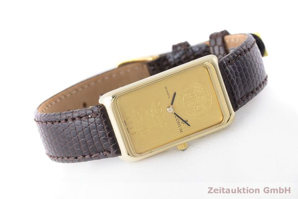 二手奢侈品腕表 Corum Goldbarren 18K金 石英机芯 Kal. 608 Ref. 42B400 56  | 170317 03