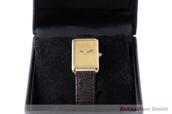 二手奢侈品腕表 Corum Goldbarren 18K金 石英机芯 Kal. 608 Ref. 42B400 56  | 170317 07