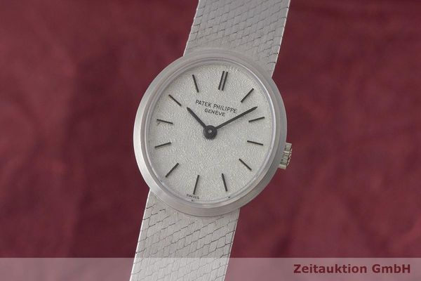 PATEK PHILIPPE ELLIPSE 18 CT WHITE GOLD MANUAL WINDING LP: 36729EUR VINTAGE [170324]