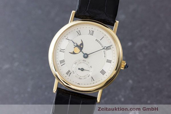 BREGUET CLASSIQUE 18 CT GOLD MANUAL WINDING KAL. 818/4 LP: 28700EUR [170330]