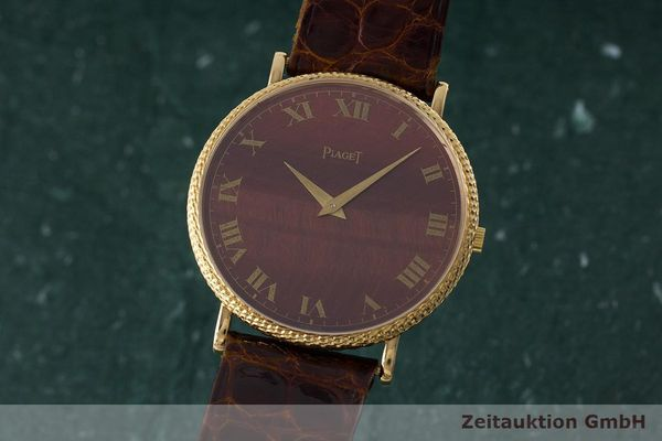 PIAGET 18 CT GOLD MANUAL WINDING KAL. 9P [170334]