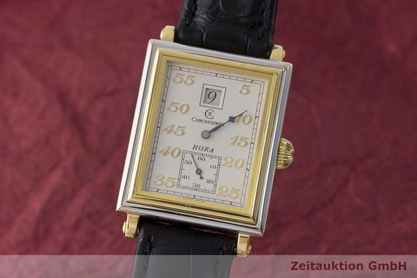 CHRONOSWISS HORA 18 CT GOLD MANUAL WINDING KAL. FEF130 LP: 12800EUR  [170349]