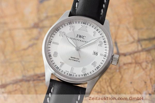 IWC MARK XVI STEEL AUTOMATIC KAL. 30110 LP: 4340EUR [170366]