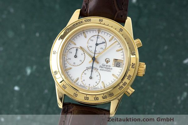 GIRARD PERREGAUX OLIMPICO CHRONOGRAPHE OR 18 CT AUTOMATIQUE KAL. 8000-314 LP: 27500EUR  [170369]