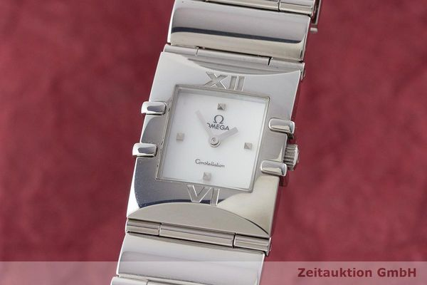 OMEGA LADY CONSTELLATION EDELSTAHL DAMENUHR REF. 15217100 VP: 2400,- EURO [170403]