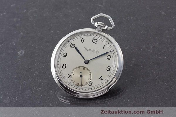 A. LANGE & SÖHNE ALS POCKET WATCH SILVER MANUAL WINDING KAL. 80  [170414]