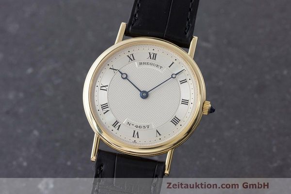 BREGUET CLASSIQUE 18 CT GOLD MANUAL WINDING KAL. 839 LP: 18100EUR [170443]