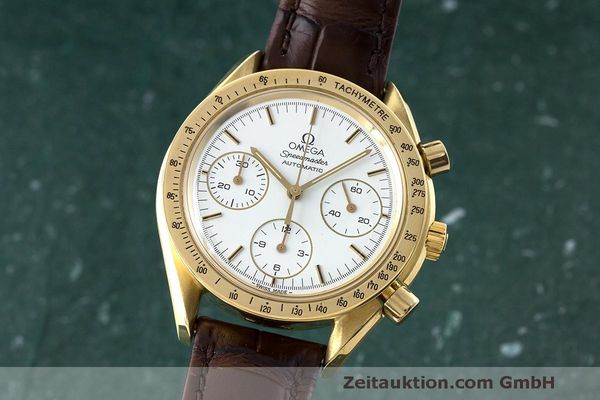 OMEGA SPEEDMASTER CHRONOGRAPHE OR 18 CT AUTOMATIQUE KAL. 1140 ETA 2890-2 LP: 14200EUR [170452]