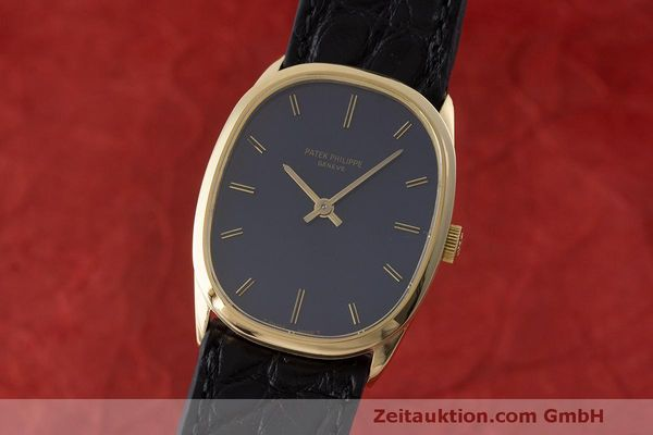 PATEK PHILIPPE 18K GOLD ELLIPSE D´OR HANDAUFZUG 3546 MEDIUM VP: 19930,- EURO [170455]