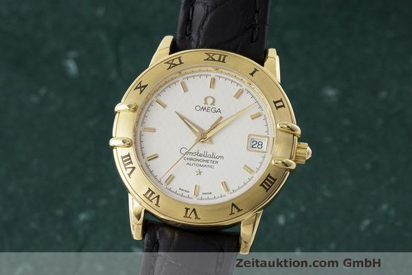 OMEGA 18K GOLD CONSTELLATION CHRONOMETER AUTOMATIK DATUM VP: 6710,- EURO [170466]