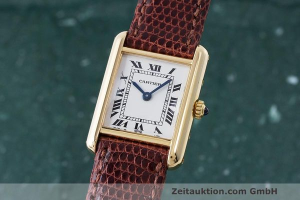 CARTIER TANK OR 18 CT QUARTZ KAL. 66 [170468]