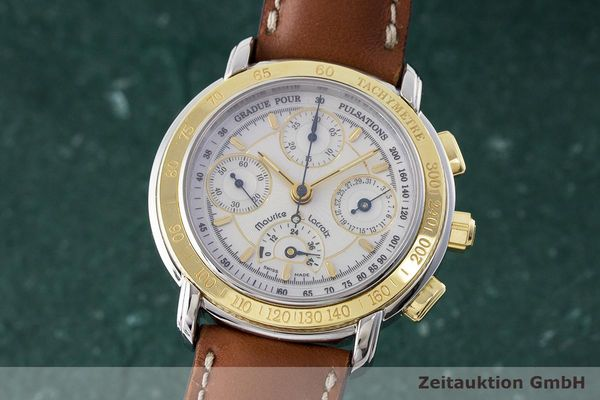 MAURICE LACROIX MASTERPIECE CHRONOGRAPH STEEL / GOLD AUTOMATIC KAL. ML30 LP: 4900EUR [170471]