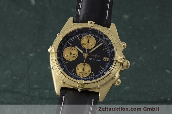 BREITLING CHRONOMAT CHRONOGRAPHE OR 18 CT AUTOMATIQUE KAL. VAL 7750 LP: 23030EUR [170506]