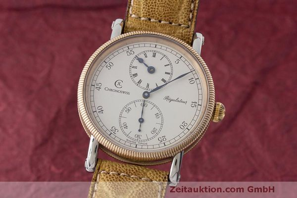CHRONOSWISS REGULATEUR STAHL / BRONZE HANDAUFZUG CH6326 VP: 6200,- EURO [170520]