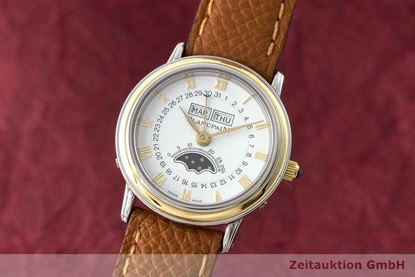 BLANCPAIN VILLERET STEEL / GOLD MANUAL WINDING KAL. 6281  [170524]