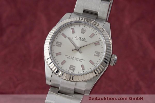 ROLEX OYSTER PERPETUAL STEEL / WHITE GOLD AUTOMATIC KAL. 2231 LP: 6700EUR [170565]