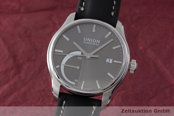 UNION GLASHÜTTE BELISAR STEEL AUTOMATIC KAL. U2897 LP: 1580EUR  [170566]
