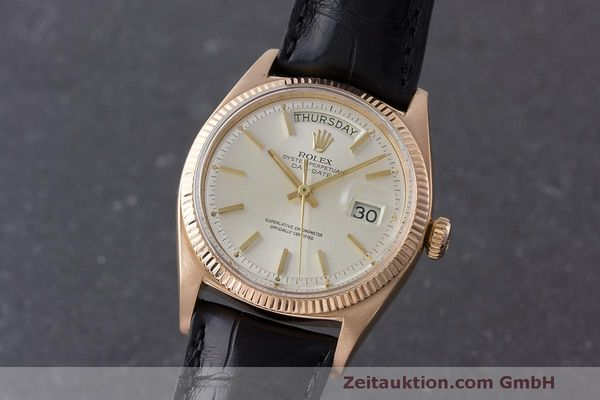 ROLEX DAY-DATE ORO ROSSO 18 CT AUTOMATISMO KAL. 1555 LP: 21500EUR [170568]