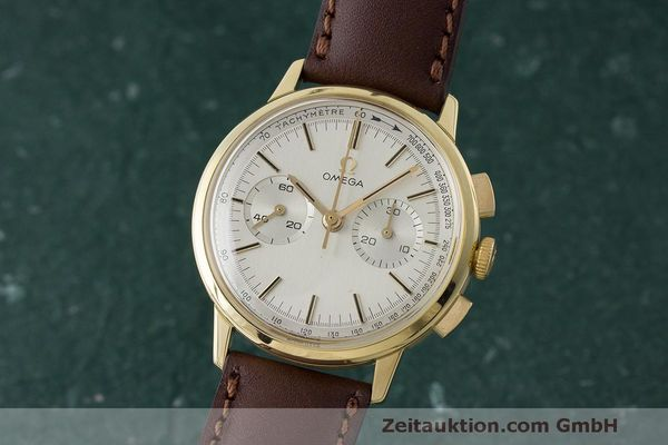 OMEGA CHRONOGRAPH 18 CT GOLD MANUAL WINDING KAL. 320 VINTAGE [170606]