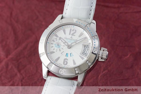 JAEGER LECOULTRE LADY MASTER COMPRESSOR DIVING GMT DIAMANTEN DAMEN VP: 7900,- Euro [170610]