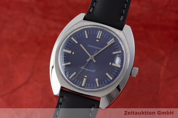 LONGINES CONQUEST ACERO CUERDA MANUAL KAL. 6942 VINTAGE [170632]