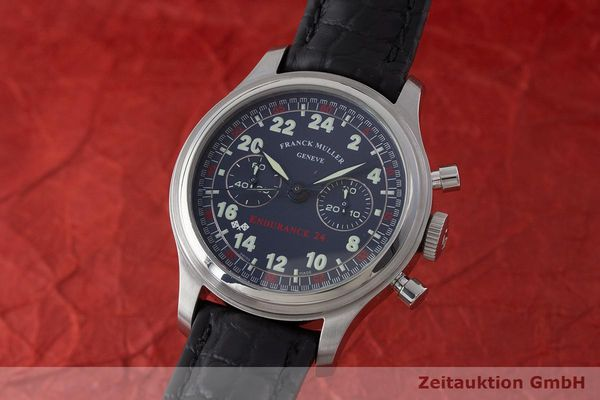 FRANCK MULLER ENDURANCE24 CHRONOGRAPH STEEL MANUAL WINDING KAL. LWO 1874 LP: 15400EUR  [170637]