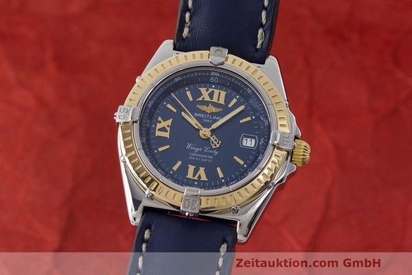 BREITLING WINGS ACIER / OR AUTOMATIQUE KAL. B67 ETA 956.612 LP: 4160EUR [170642]