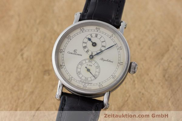 CHRONOSWISS REGULATEUR ACIER AUTOMATIQUE KAL. C. 122 LP: 5200EUR  [170653]