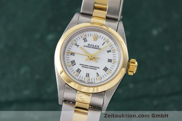 ROLEX OYSTER PERPETUAL STEEL / GOLD AUTOMATIC KAL. 2130 LP: 7400EUR [170657]