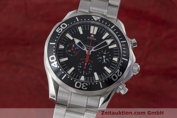 OMEGA SEAMASTER CHRONOGRAPH STEEL AUTOMATIC KAL. 3602 LP: 6700EUR [170676]