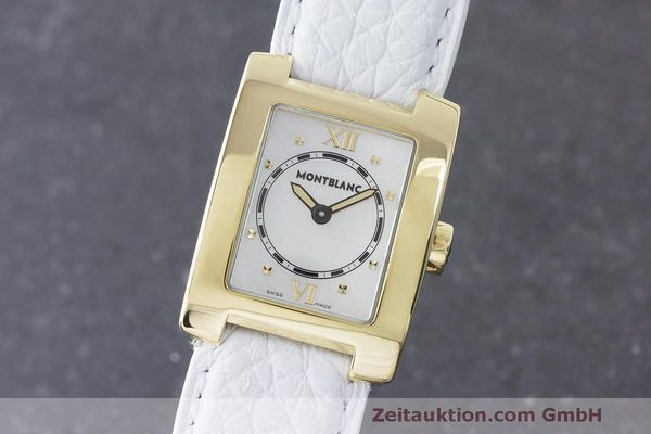 MONTBLANC PROFILE OR 18 CT QUARTZ KAL. 4810107 ETA 976.001  [170682]