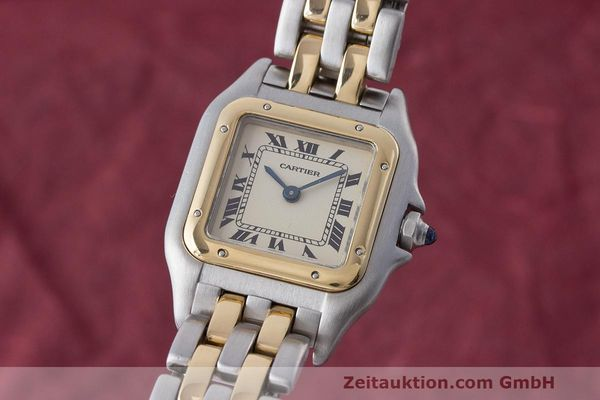 CARTIER PANTHERE ACIER / OR QUARTZ KAL. 157 [170684]