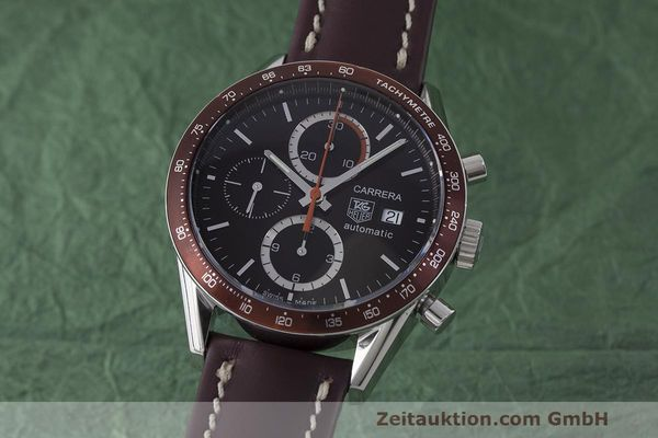 TAG HEUER CARRERA CHRONOGRAPH STEEL AUTOMATIC KAL. 16 LP: 3995EUR  [170703]