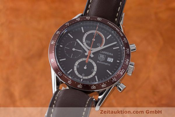 TAG HEUER CARRERA CHRONOGRAPH STEEL AUTOMATIC KAL. 16 LP: 3995EUR [170727]