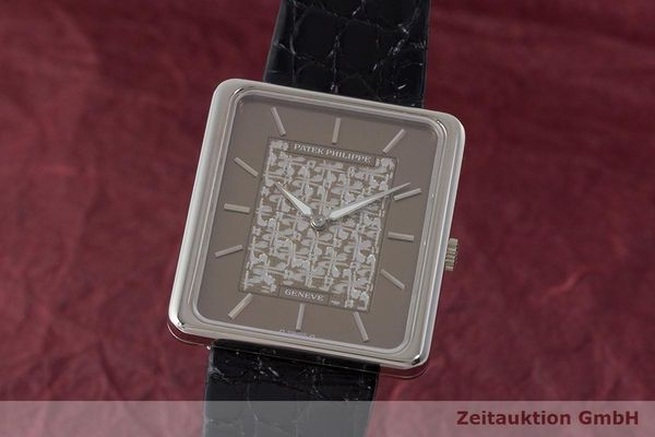 PATEK PHILIPPE 18 CT WHITE GOLD MANUAL WINDING KAL. 16-250 LP: 24486EUR [170733]
