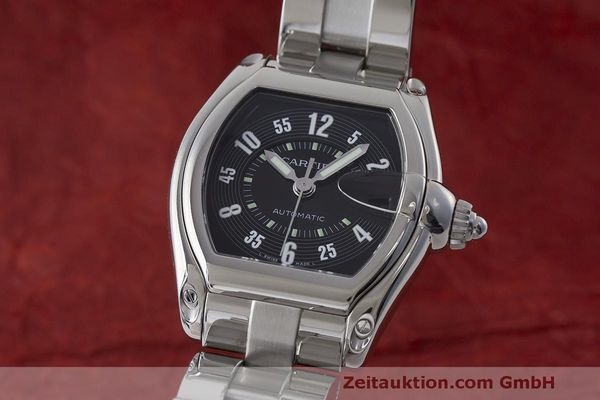 CARTIER ROADSTER ACIER AUTOMATIQUE KAL. ETA 2892A2 LP: 4300EUR [170734]