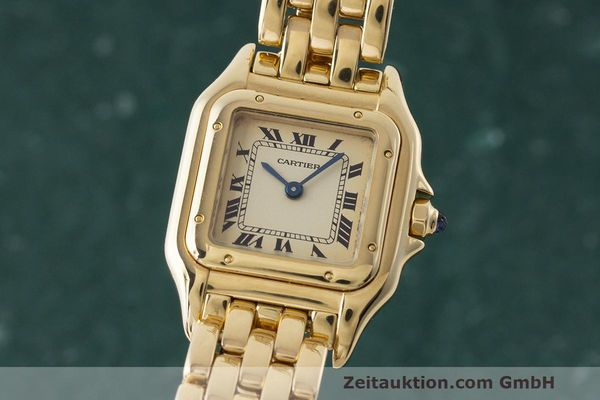 CARTIER PANTHERE OR 18 CT QUARTZ KAL. 157 [170750]