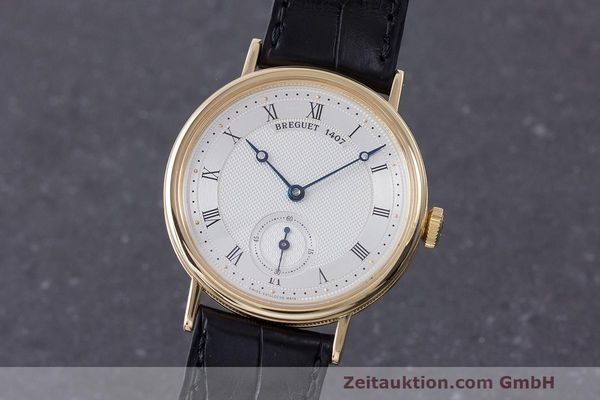 BREGUET CLASSIQUE 18 CT GOLD MANUAL WINDING KAL. 511DR LP: 11800EUR [170815]