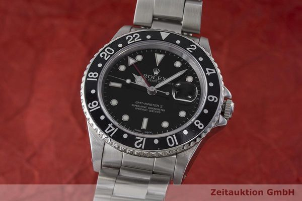 ROLEX GMT-MASTER II STEEL AUTOMATIC KAL. 3185  [170819]