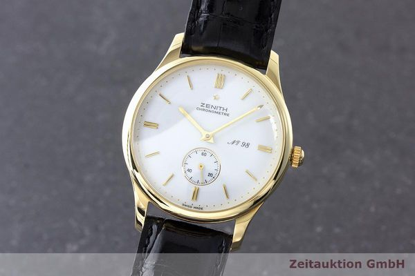 ZENITH COLLECTION 125 OR 18 CT À REMONTAGE MANUEL KAL. 2541 LP: 8900EUR [170828]