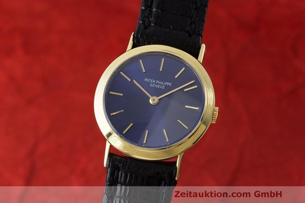 PATEK PHILIPPE CALATRAVA 18 CT GOLD MANUAL WINDING KAL. 13.5-320  [170829]