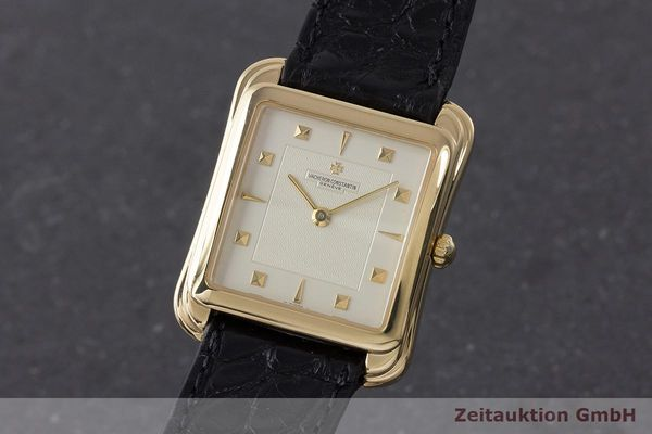 VACHERON & CONSTANTIN TOLEDO 18 CT GOLD MANUAL WINDING KAL. 1132-2 LP: 34800EUR [170843]