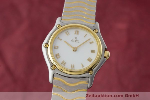 EBEL CLASSIC WAVE STEEL / GOLD QUARTZ KAL. 57  [170862]