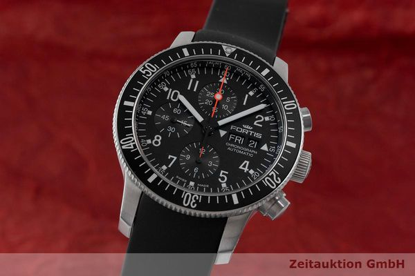 FORTIS B-42 CHRONOGRAPH STEEL AUTOMATIC LP: 3020EUR  [170881]